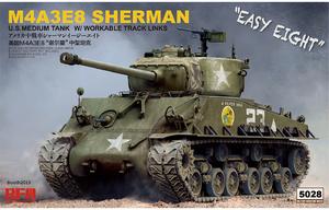 M4A3E8 Sherman Easy Eight (М4А3Е8 Шерман) - RM-5028 RyeField Model 1:35