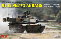 M1A2 SEP V2 Abrams (Абрамс) US Main Battle Tank - RM-5029 RyeField Model 1:35