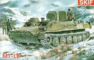 МТ-ЛБ легкий бронированный тягач - 214 Скиф 1:35