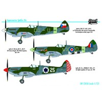 Spitfire LF Mk.IХe низковысотный истребитель - SW72050 Sword 1:72