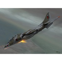 Harrier T Mk.2-2A-TAV-8A учебно-тренировочный - SW72061 Sword 1:72