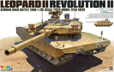 Леопард-2 Revolution II - 4628 Tiger Model 1:35