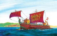 Римская императорская трирема - 9019 Звезда 1:72