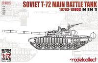 Т-72 ОБТ (T-72 1970s-1990s N in 1) - UA72194 Modelcollect 1:72