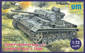 Pz.Kpfw. III Ausf. L - UM-272 Unimodel 1:72