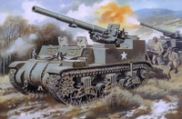 M12 Кинг Конг 155-мм самоходная пушка - UM-211 Unimodel 1:72