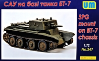 САУ на базе танка BT-7 - UM-247 Unimodel 1:72