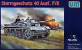 Sturmgeschutz 40 Ausf. F/8 немецкая САУ - UM-280 Unimodel 1:72