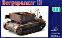 Bergepanzer III немецкая БРЭМ - UM-287 Unimodel 1:72