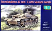 Sturmhaubitze 42 Ausf. G САУ - UM-288 Unimodel 1:72