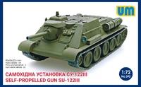 СУ-122 САУ - UM-392 Unimodel 1:72