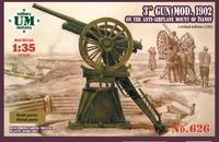 3-дюйм. орудие обр. 1902 на станке Иванова - UMmt-626 UM Military Technics 1:35