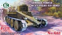 Т1 боевая машина кавалерии армии США - UMmt-661 UM Military Technics 1:72