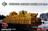 МБВ мотоброневагон - UMmt-673 UM Military Technics 1:72
