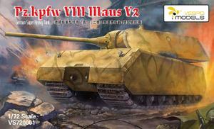 Pz.Kpfw.VIII Maus V2 сверхтяжелый танк - VS72001 Vespid Models 1:72
