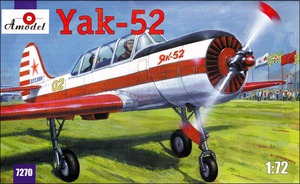 Як-52 - 7270 Amodel 1:72