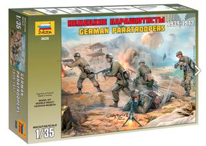 Немецкие парашютисты 1939-1942 года - 3628 Звезда 1:35