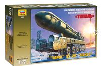 Тополь ракетный комплекс - 5003 Звезда 1:72