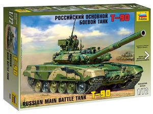 Российский основной боевой танк Т-90 - 5020 Звезда 1:72